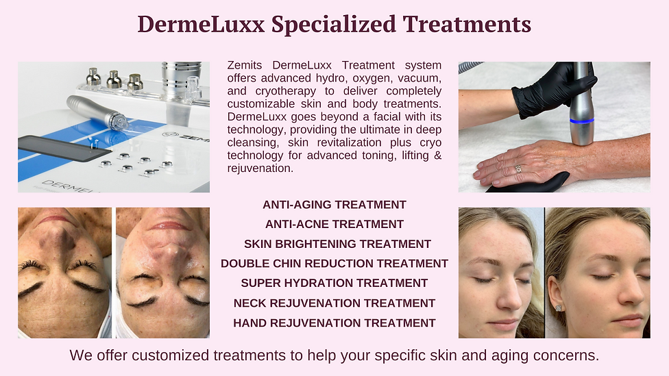 What are the treatment available in dermeluxx?