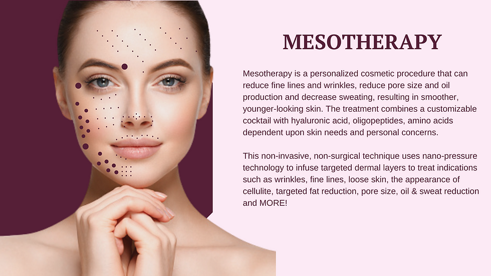 mesotherapy for antiaging near coral springs