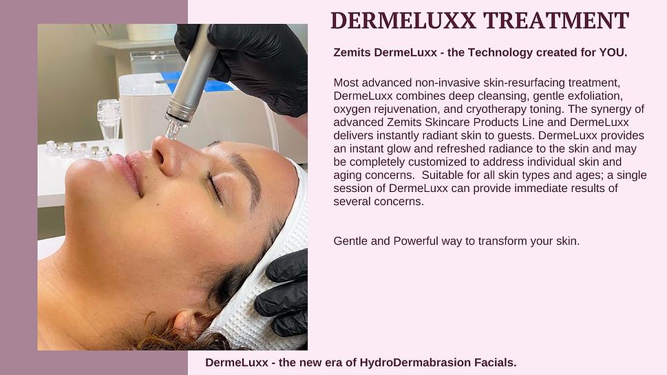 What is Dermeluxx treatment?