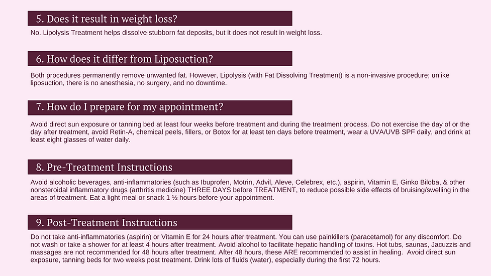 Does the lipolysis effective?