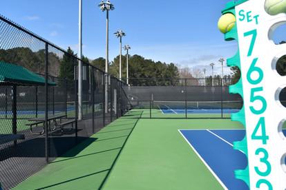 Court 3 at Sugar Creek Golf & Tennis Center