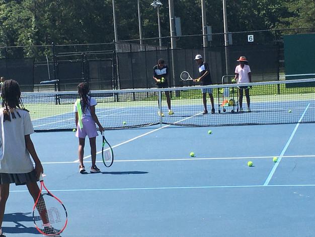 Summer Camp Tennis Drills