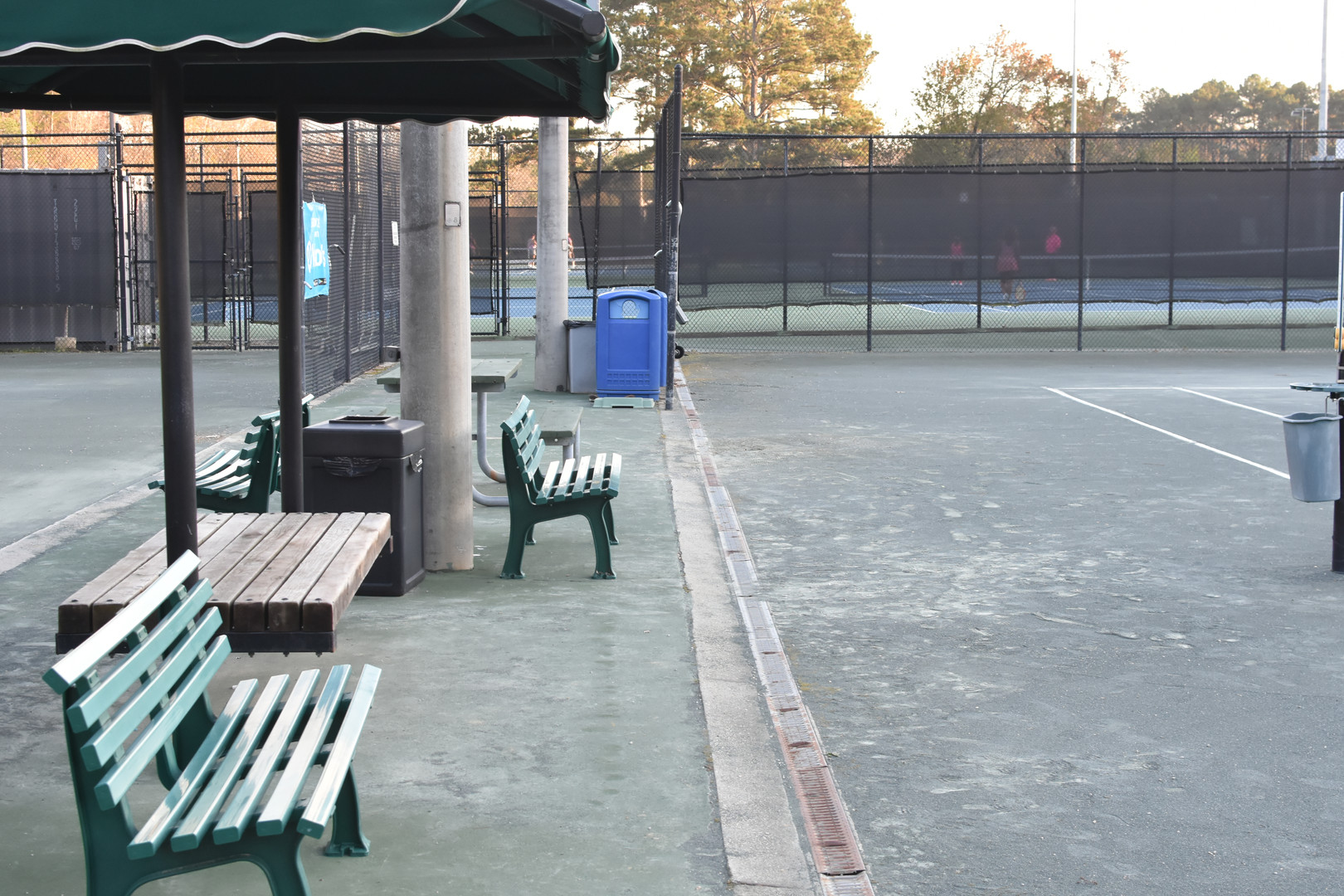 Clay Court Benches
