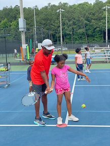 Coach Rocky Teaching The Forehand