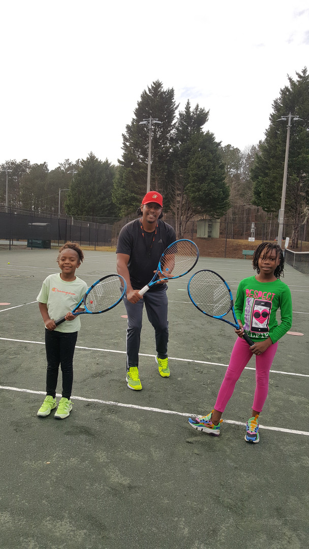 The Tots Tennis Class