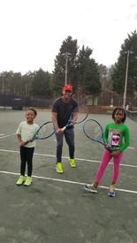 The Tots Tennis Class