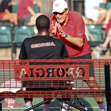 Nathan Pasha & Coach Manny Diaz