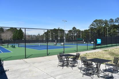 Court 1, 2 and 3 at Sugar Creek Golf & Tennis Center