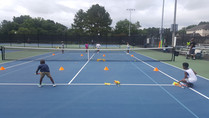 Team Tennis with Targets