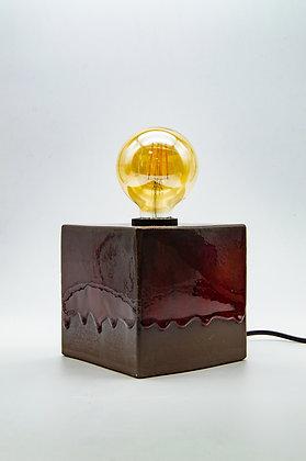Würfel Lampe Groß - Lava