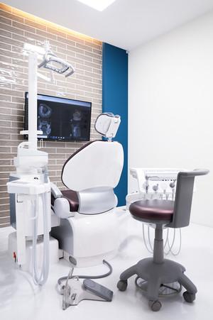 プライバシーに配慮した完全個室診療室