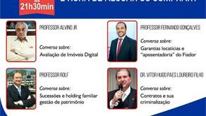 LIVE: COM O PRESIDENTE DO SINAP DR. VITOR HUGO
