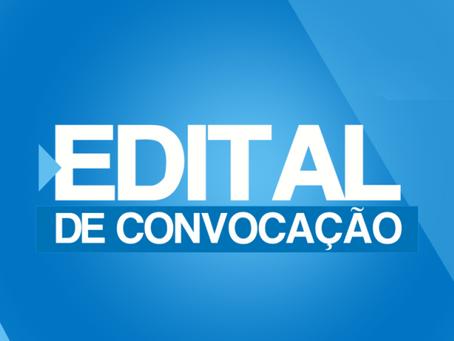 EDITAL DE CONVOCAÇÃO PARA AGE, PAUTA:CONVENÇÃO COLETIVA DE TRABALHO 2021-2022