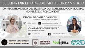 DA NECESSIDADE DE OBSERVÂNCIA DO EQUILIBRIO CONTRATUAL PÓS COVID-19