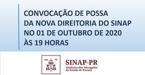 POSSE DA NOVA DIRETORIA DO SINAP - GESTÃO 2020-2024