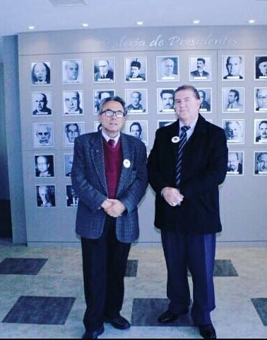 Dr. Ernani e Dr. Vitor na sede do IAP.jp