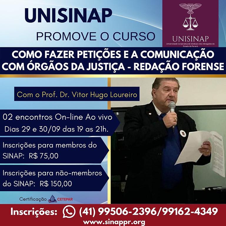 Como Fazer Petições e a Comunicação com Órgãos da Justiça  - REDAÇÃO FORENSE