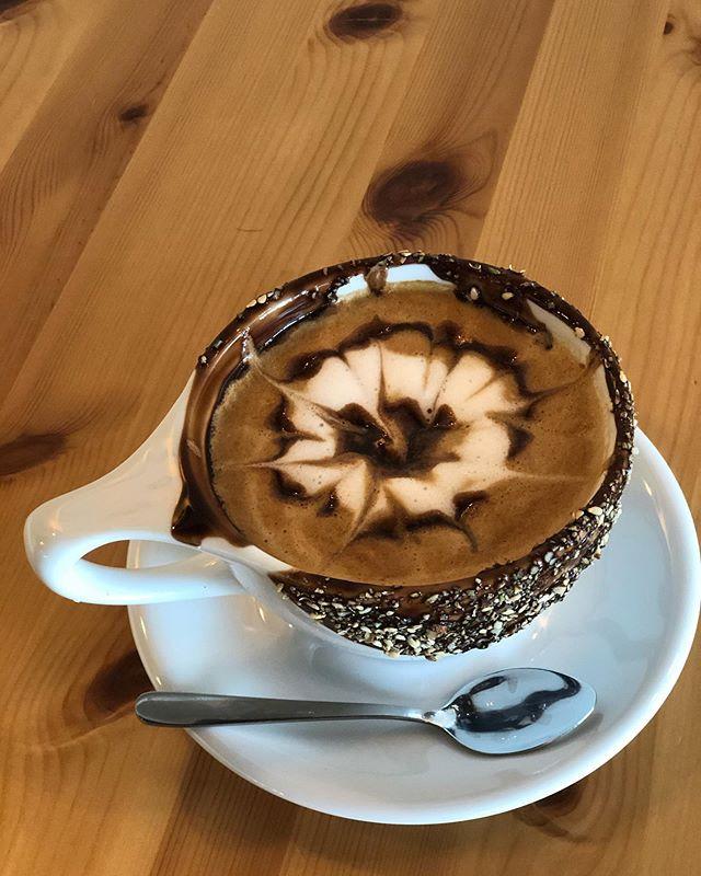 #hazelnut #mocha at Coffee Joy 😲  Fact