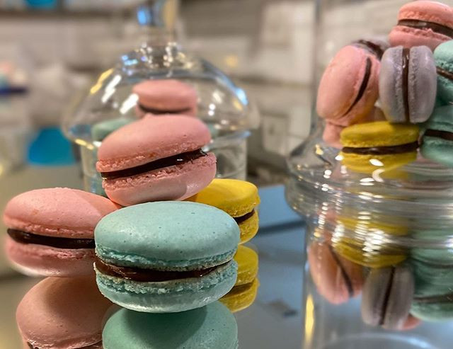 Yes! You can find homemade #macarons at