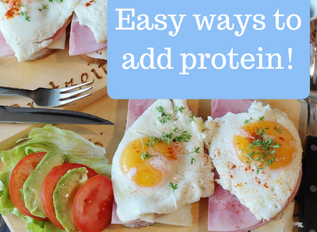 Easy Ways to Add Protein
