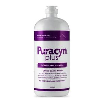 Innovacyn Puracyn® Plus Professional Wound Irrigation Solution 1000mL