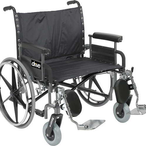 Bariatric Deluxe Sentra Heavy-Duty, Extra-Extra-Wide Wheelchair