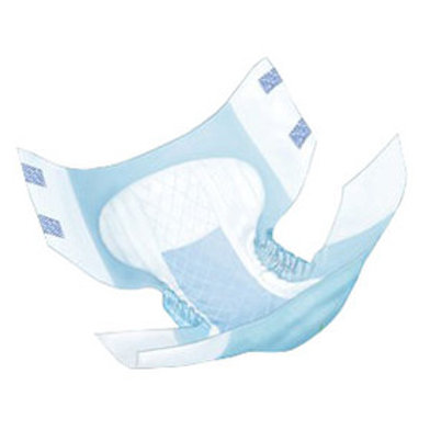 """Wings Adult Quilted Brief Medium 32"""" - 44"""", heavy absorbency, unisex, white, disposable. POSSIBLE SUB FOR HU222423"""
