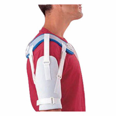 "Sammons Preston AliMed Hemi Shoulder Sling Right Extra-Small 9"" to 10-1/2"" Bicep, Latex-free, Polyurethane Lining"