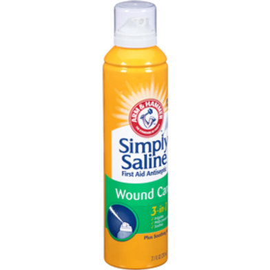 Simply Saline 3-in-1 Wound Wash