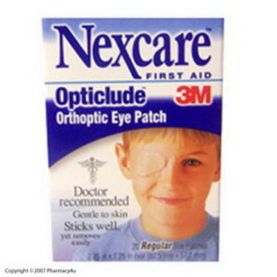 """3M Nexcare™ Opticlude™ Orthoptic Eye Patch Regular 3-1/4"""" x 2-1/4"""", Breathable, Latex-free"""