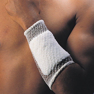 DeRoyal Stretch Net™ Tubular Elastic Bandage Size 4, 10 yds, For Hand, Elbow, Foot, Knee