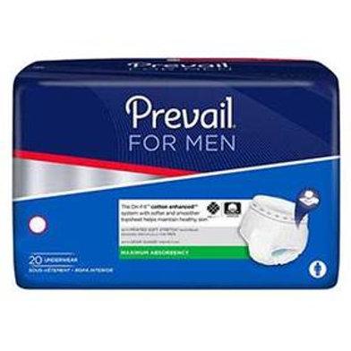"""Prevail® Men's Underwear, Small/Medium (28"""" to 40"""")"""