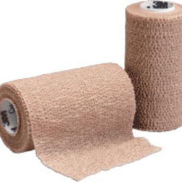 """3M Coban™ Self-Adherent Wrap Tan, 4"""" x 5 yds"""