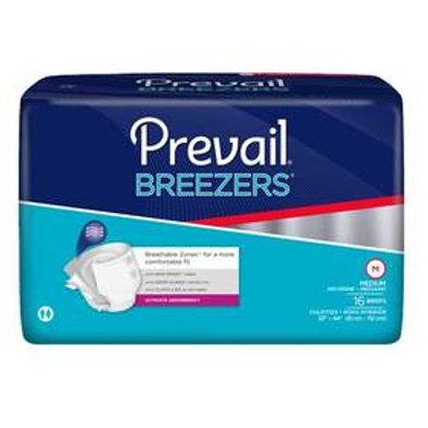 "Prevail® Breezers™ Adult Brief, Medium (32"" to 44"")"