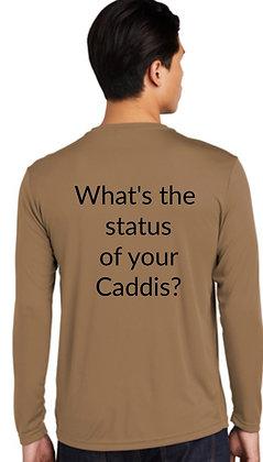Caddis Status LS Shirt - Woodland Brown