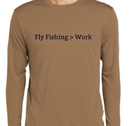 Fly Fishing > Work LS Shirt - Woodland Brown