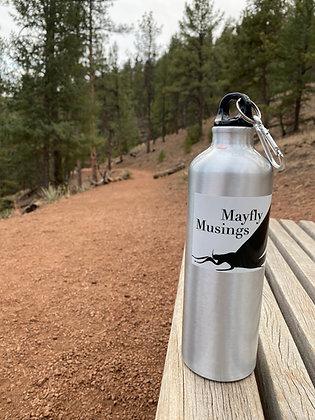 26 oz. Mayfly Musings Aluminum Water Bottle
