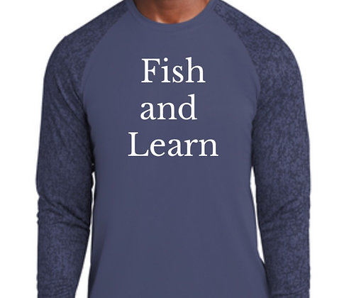 Fish and Learn LS - True Navy