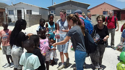 Children love guests on our Khayelitsha Township Tour