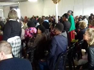 Township church service