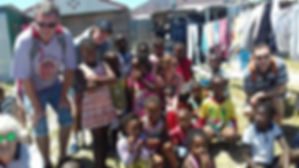 Guests on our Khayelitsha Township Tour