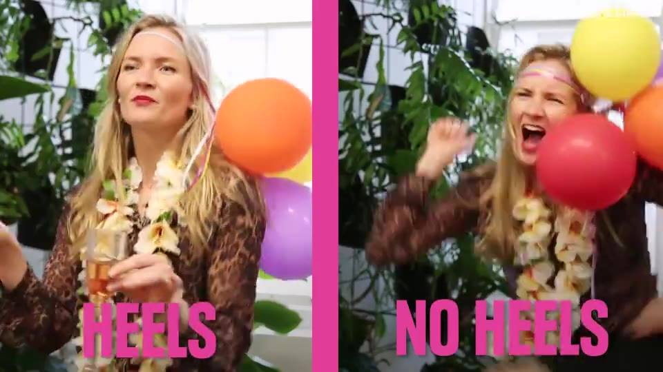 Heels or no heels? After watching this, we know which one we prefer. http://trib.al/JVVmr3W