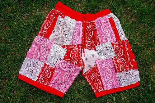 BandanaX Shorts (Valentine)