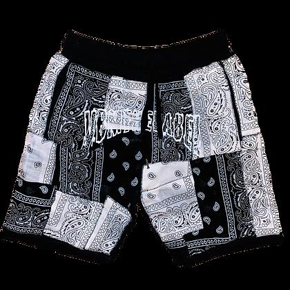 BandanaX Shorts (Oreo)