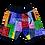 Thumbnail: BandanaX Shorts (Multi-Color)