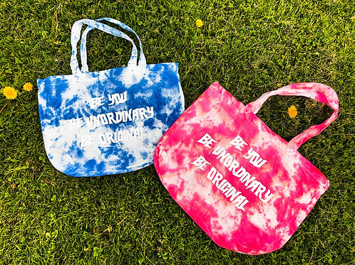 Be You Tie Dye Tote