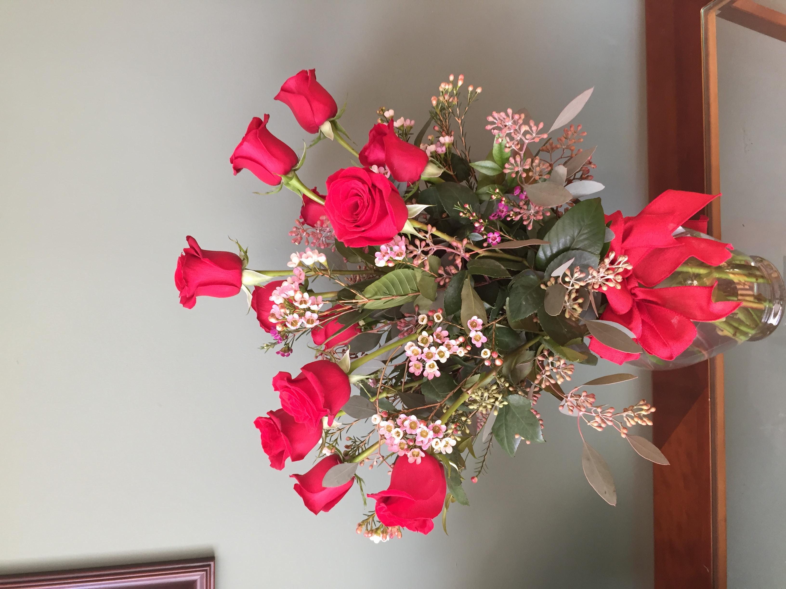 One Dozen Roses $70