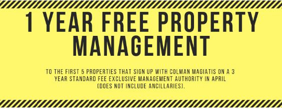 1 Year Free Property Management