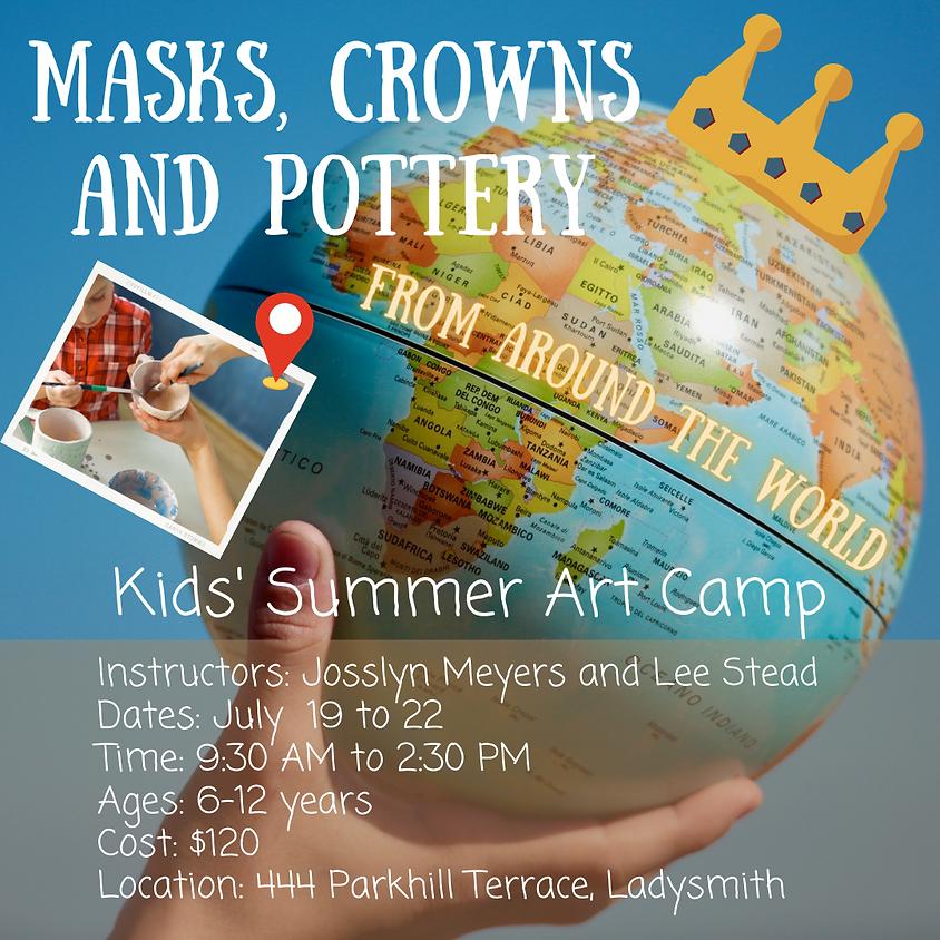 Around the World: Kids' Summer Art Camp