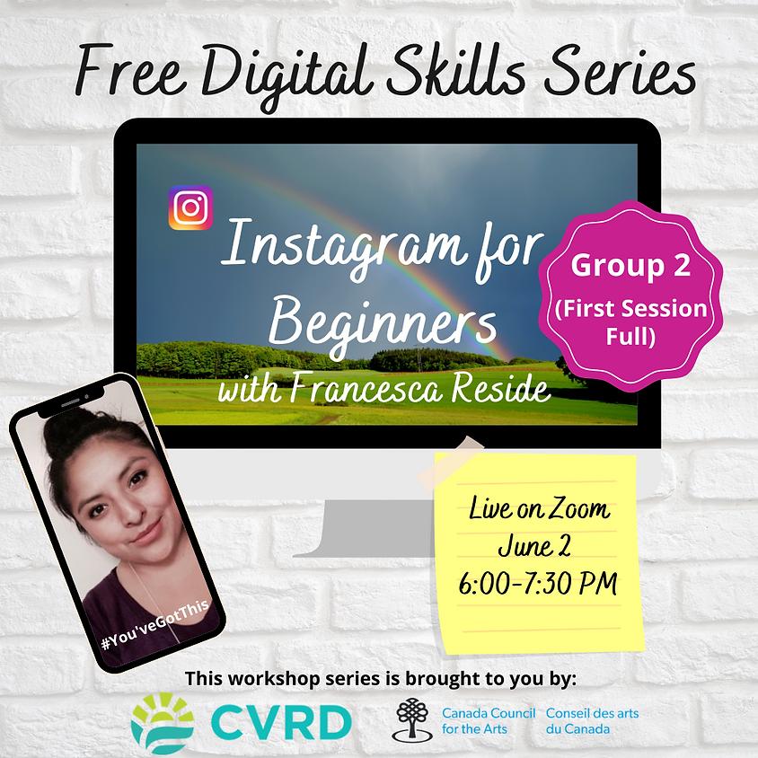 Instagram for Beginners (Group 2)